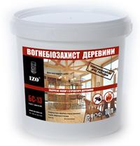 готовый раствор БС-13 для деревянных конструкций